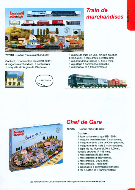catalogue Jouef 2000-2001 page 101