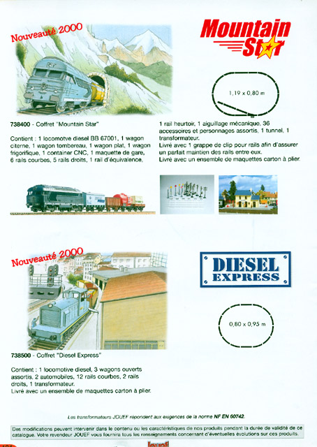 catalogue Jouef 2000-2001 page 104