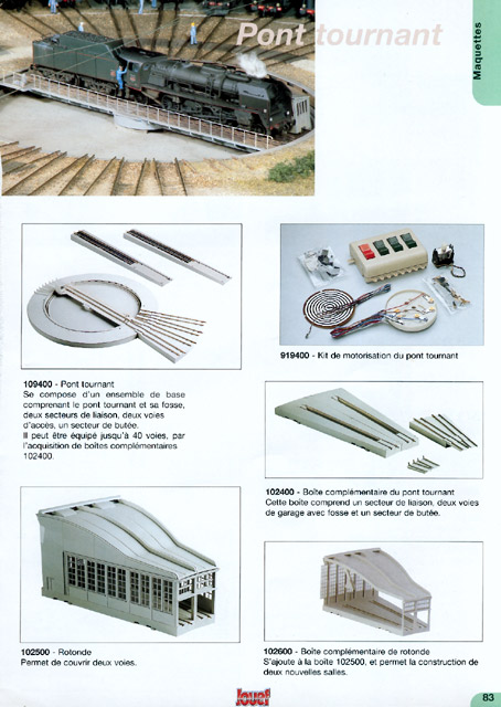 catalogue Jouef 2000-2001 page 83