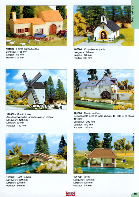 catalogue Jouef 2000-2001 page 91