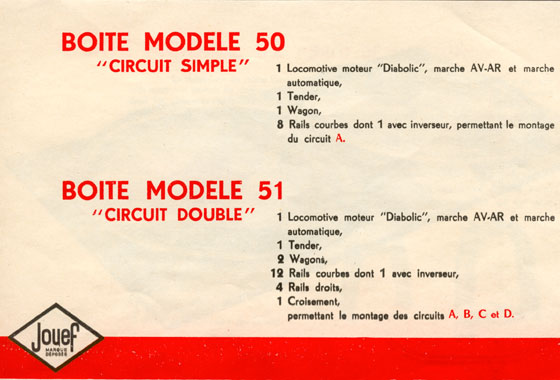 catalogue Jouef 1952 page 7