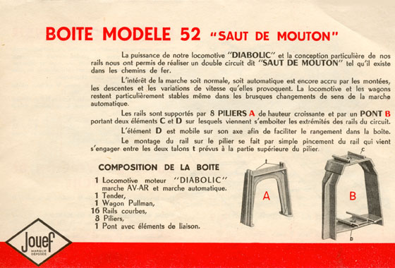catalogue Jouef 1952 page 9