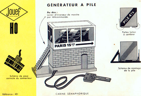 catalogue Jouef 1955 page 2