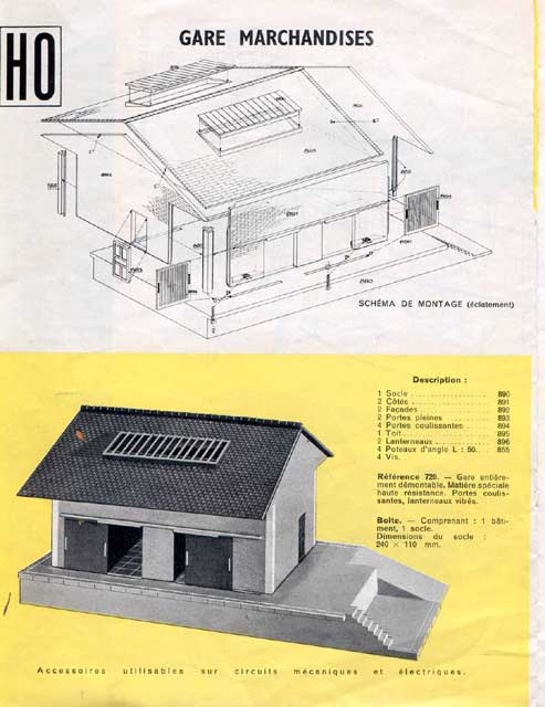 catalogue Jouef 1960 page 20