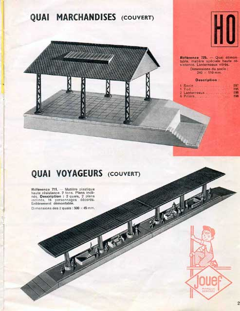 catalogue Jouef 1960 page 21