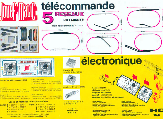 catalogue Jouef 1971-1972 page 34