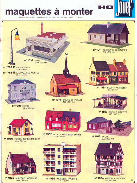 catalogue Jouef 1973-1974 page 35
