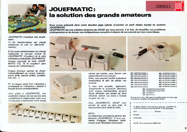 catalogue Jouef 1978-1979 page 9