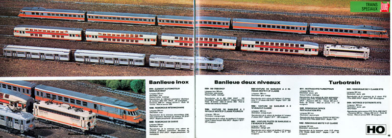 catalogue Jouef 1978-1979 page 44-45