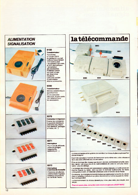 catalogue Jouef 1981 page 12