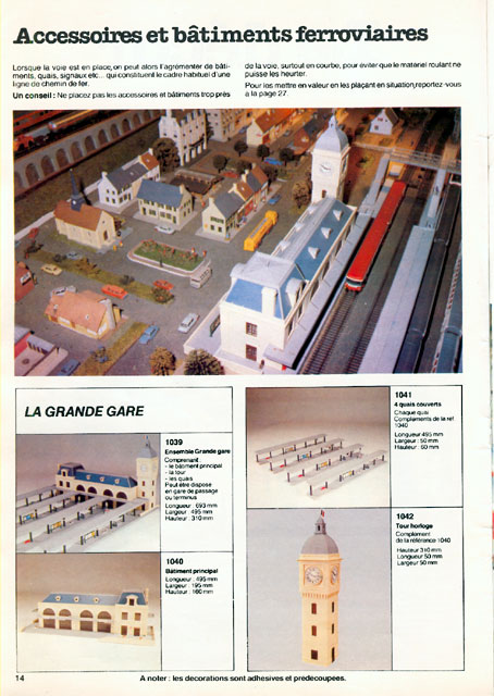 catalogue Jouef 1981 page 14