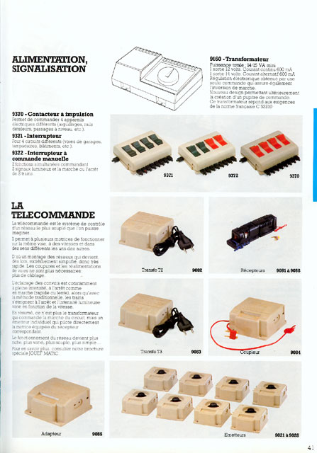 catalogue Jouef 1983 page 41