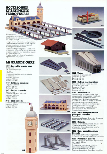 catalogue Jouef 1983 page 46