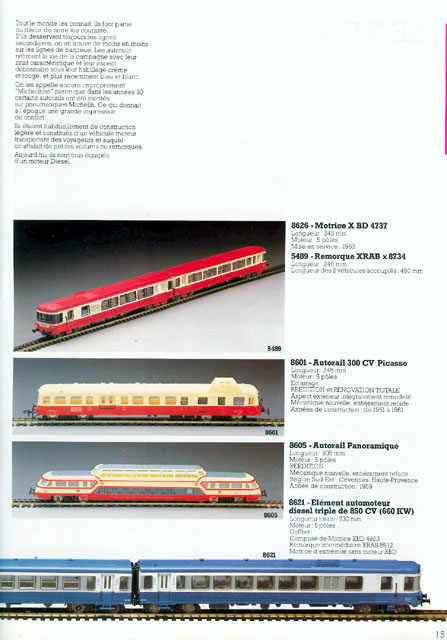catalogue Jouef 1984 page 15