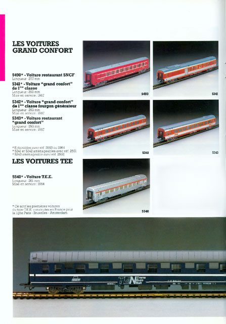 catalogue Jouef 1984 page 26