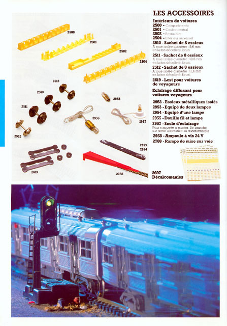 catalogue Jouef 1984 page 42