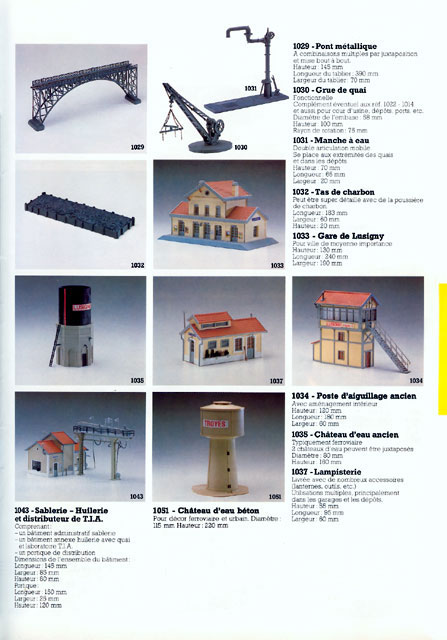 catalogue Jouef 1985 page 49