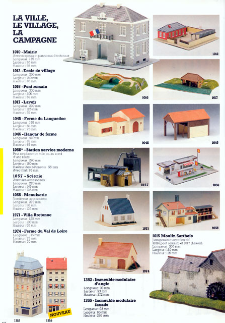 catalogue Jouef 1985 page 52