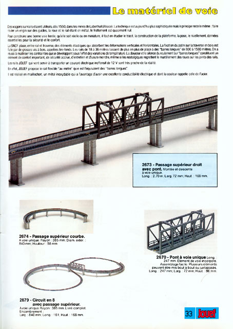 catalogue Jouef 1987 page 33