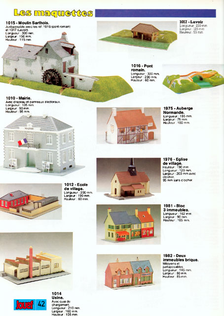 catalogue Jouef 1987 page 42
