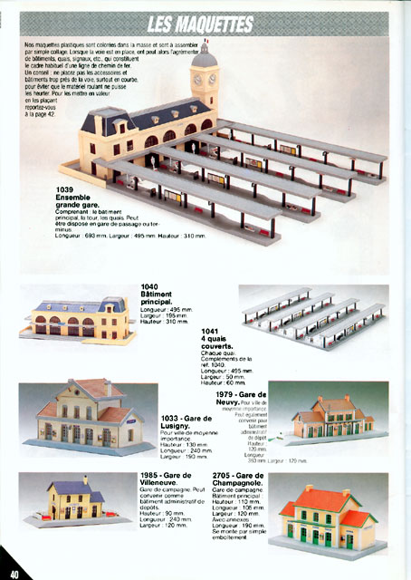 catalogue Jouef 1988 page 40