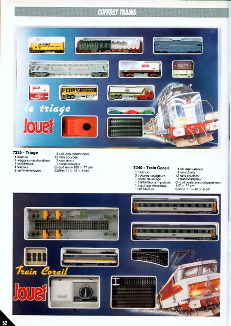 catalogue Jouef 1988 page 52