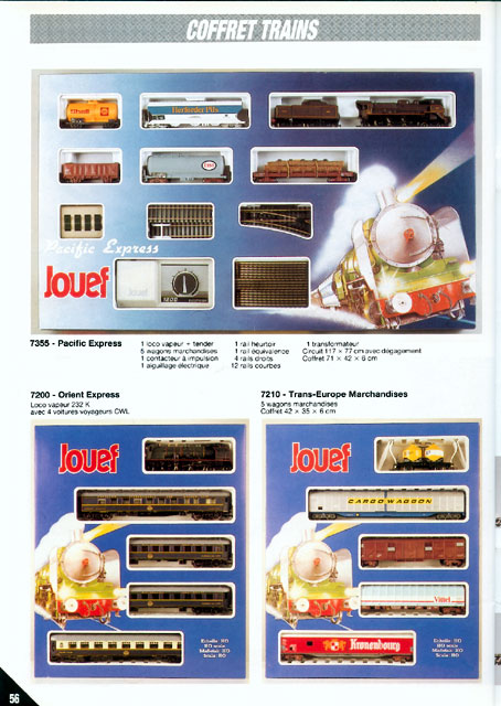 catalogue Jouef 1988 page 56