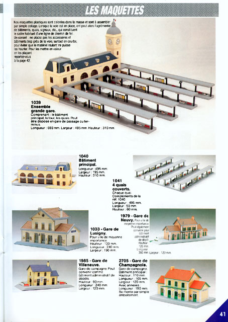 catalogue Jouef 1989 page 41