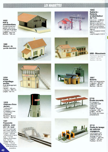 catalogue Jouef 1989 page 42