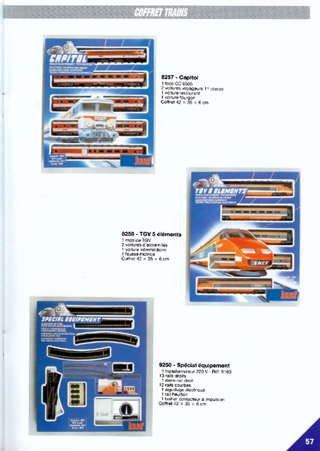 catalogue Jouef 1989 page 57