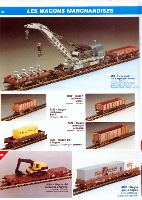 catalogue Jouef 1990 page 32