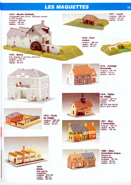 catalogue Jouef 1990 page 53