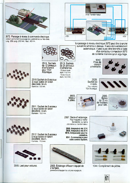 catalogue Jouef 1991 page 61