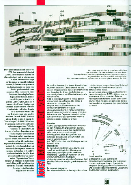 catalogue Jouef 1992 page 50