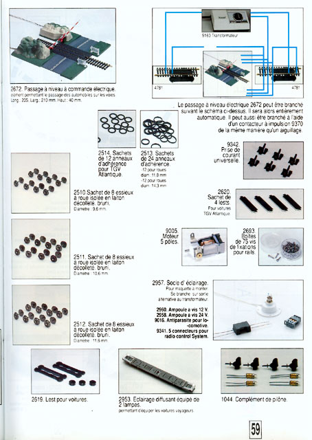 catalogue Jouef 1992 page 59
