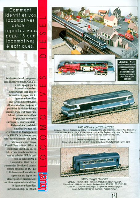catalogue Jouef 1993 page 16
