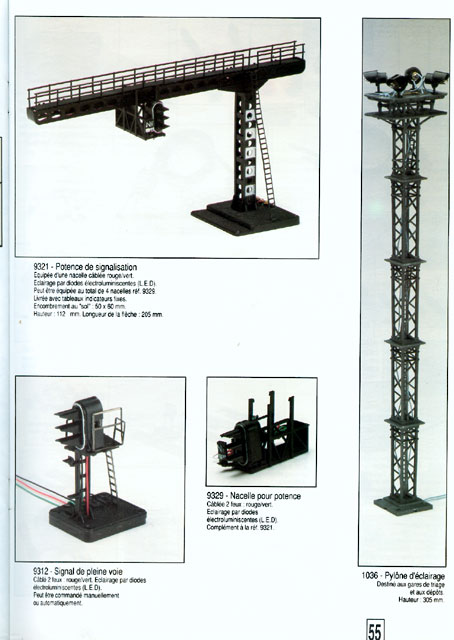 catalogue Jouef 1993 page 55