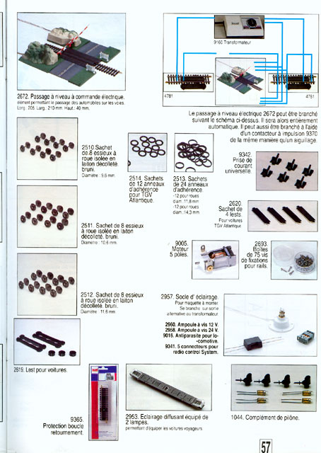 catalogue Jouef 1993 page 57