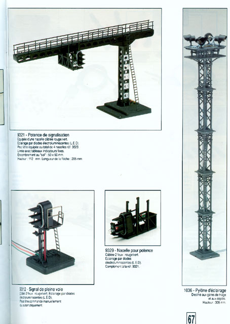 catalogue Jouef 1994 page 67