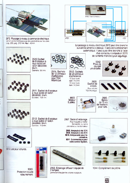 catalogue Jouef 1994 page 69
