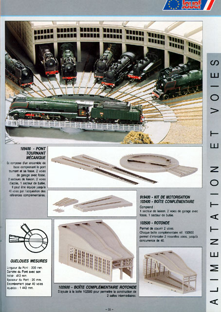 catalogue Jouef 1996 page 55
