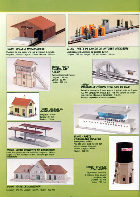catalogue Jouef 1996 page 68