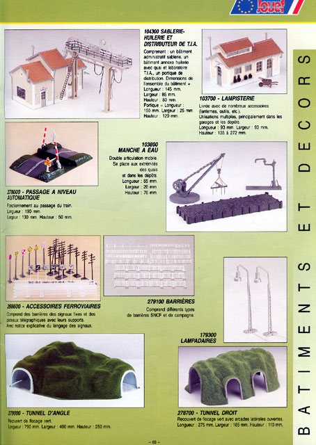 catalogue Jouef 1996 page 69