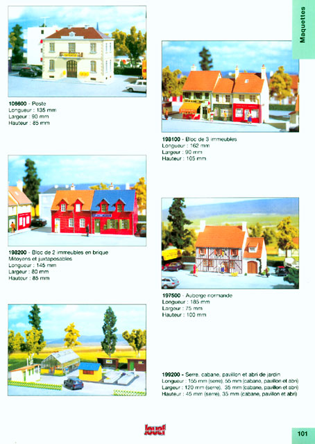 catalogue Jouef 1998 page 101