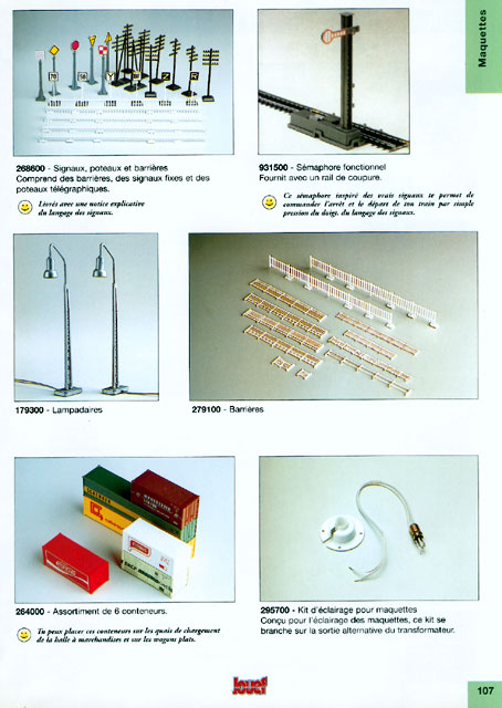 catalogue Jouef 1998 page 107