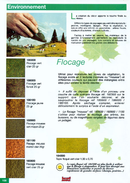 catalogue Jouef 1998 page 108