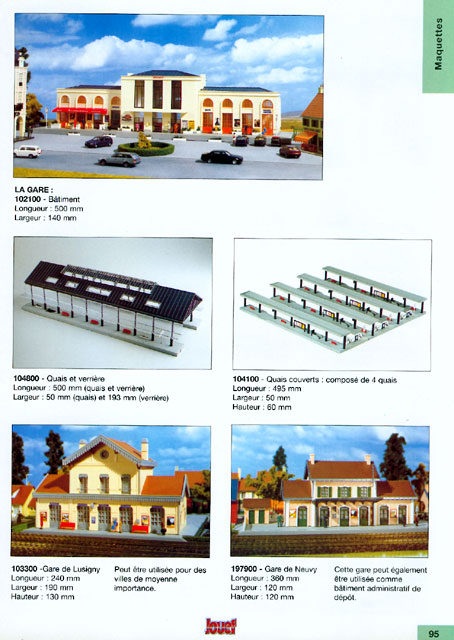 catalogue Jouef 1998 page 95