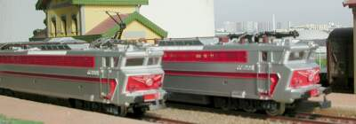Jouef ref. 843 electric locomotive CC 40101 SNCF