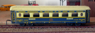 Jouef ref. 600 tin plate Pullman car