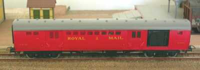 Jouef ref. 454 travelling post office W 80300 BR Royal Mail